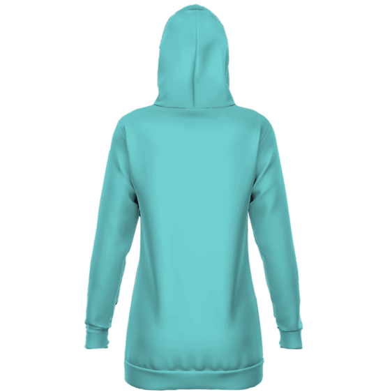 Dragon Ball Android 21 Candy Blue Cute Hoodie Dress