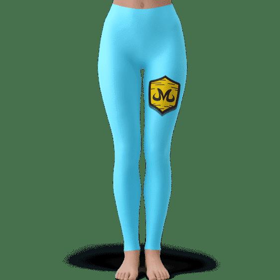 Dragon Ball Babidi Team Emblem Majin Candy Blue Leggings