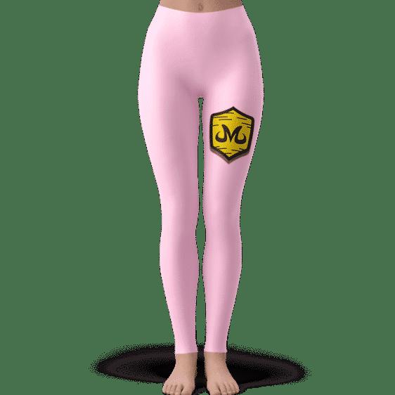 Dragon Ball Babidi Team Emblem Majin Pink Cute Yoga Pants