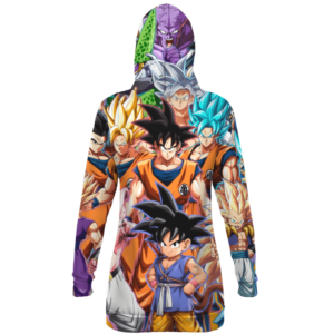 Dragon Ball Fighter Z All Characters Transformation Hoodie Dress