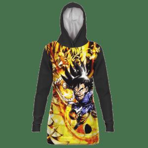 Dragon Ball GT Kid Goku Dragon Punch Great Hoodie Dress