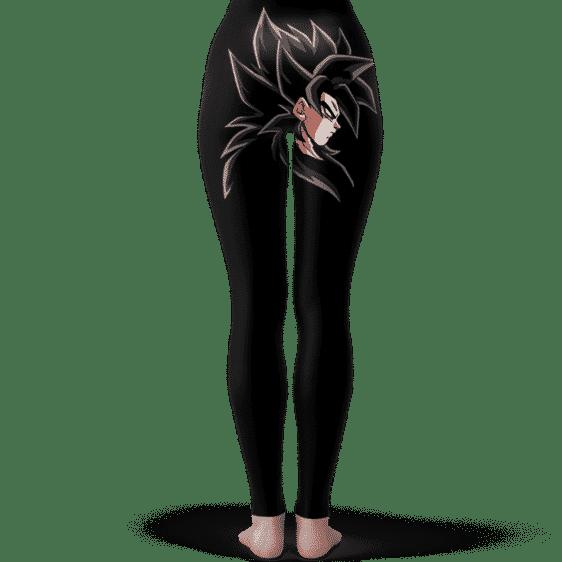Dragon Ball GT Son Goku Super Saiyan 4 Black Yoga Pants