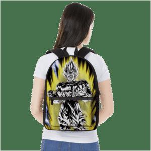 Dragon Ball Z Goku SSJ 2 Charging Up Aura Awesome Backpack