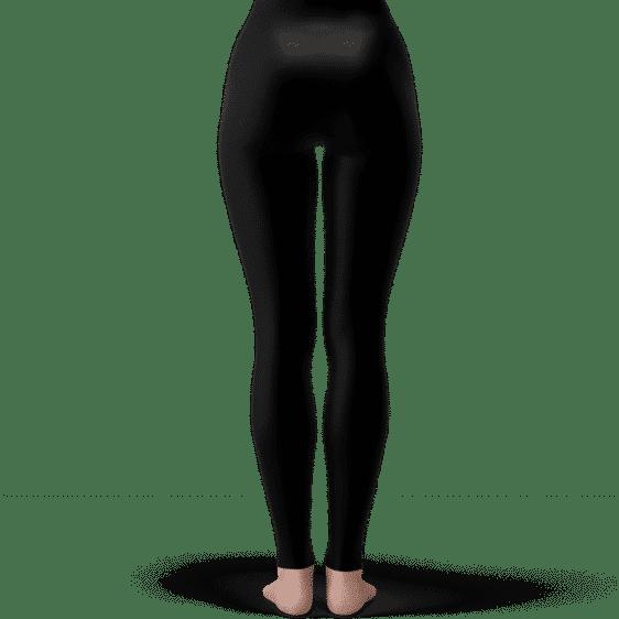 Dragon Ball Goku Super Saiyan Vectorized Art Black Yoga Pants