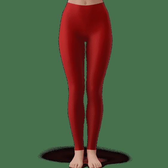 Dragon Ball Goku's Hair Vector Art Sexy Red Yoga Pants