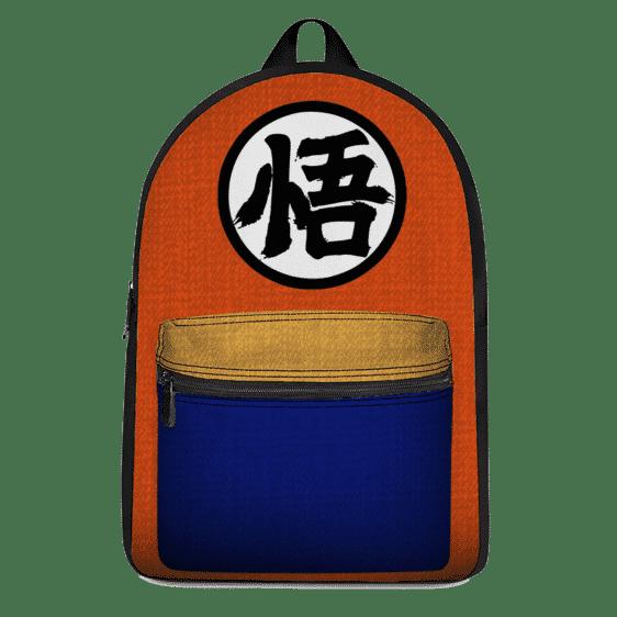 Dragon Ball Goku's Kanji Symbol Awesome Backpack