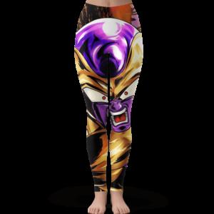 Dragon Ball Golden Frieza Surprised Dope Yoga Pants