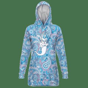Dragon Ball Gotenks Ghost Cute Adorable Blue Hoodie Dress
