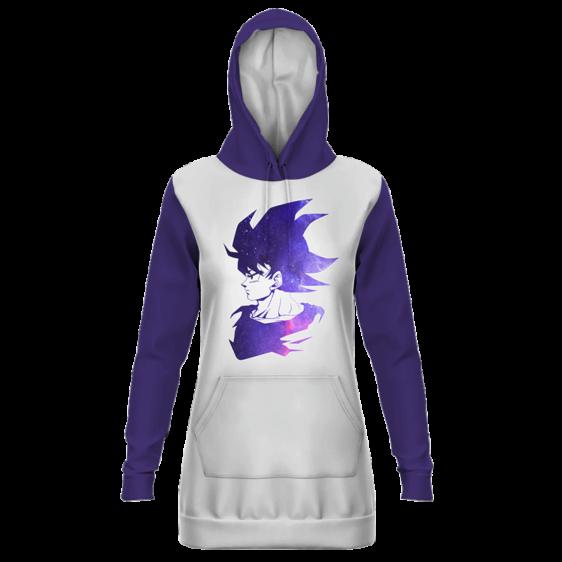 Dragon Ball Handsome Goku White Purple Hoodie Dress