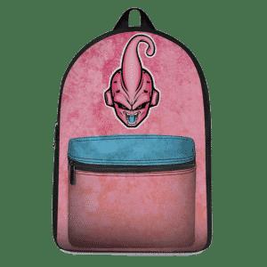 Dragon Ball Kid Buu Majestic Vector Artwork Pink Blue Backpack