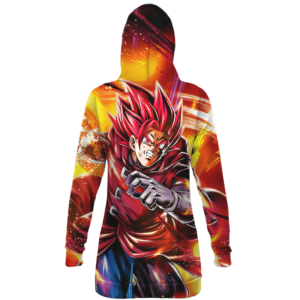 Dragon Ball Legends Shallot Super Saiyan God Dope Hoodie Dress