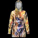 Dragon Ball Legends Vegito Charging Up Dope Hoodie Dress