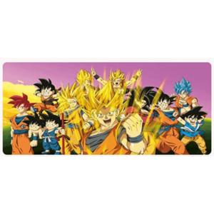 Dragon Ball Optimistic Goku Multiple Saiyan Forms Mouse Pad