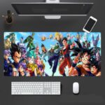 Dragon Ball Series Anime Characters Dope Mouse Pad