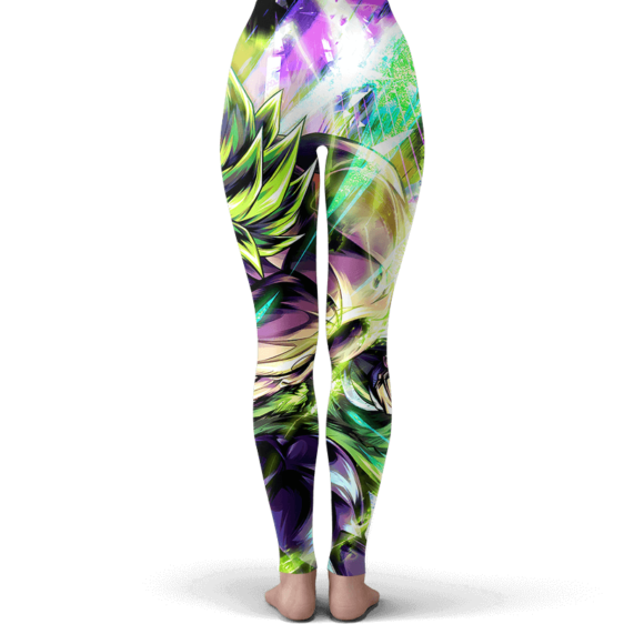 Dragon Ball Super Broly All Charged Up Majestic Yoga Pants