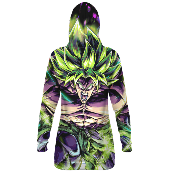 Dragon Ball Super Broly Legendary Saiyan Hoodie Dress