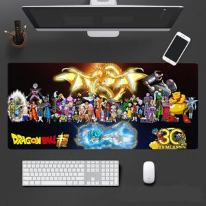Dragon Ball Super Characters And Super Shenron Mouse Pad