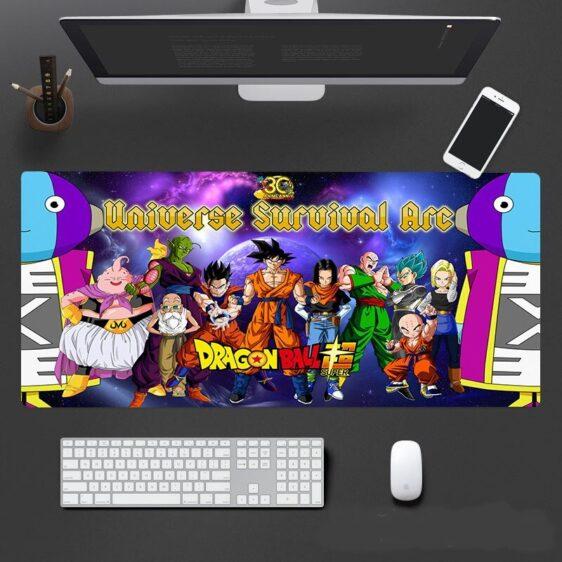 Dragon Ball Super Epic Universe Survival Arc Mouse Pad