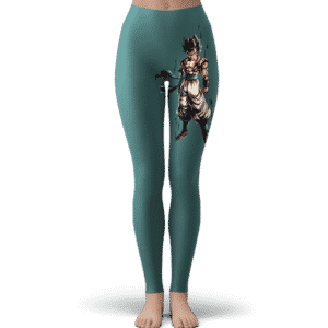 Dragon Ball Super Gogeta Base Form Dark Teal Yoga Pants