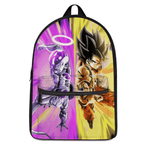 Dragon Ball Super Goku And Frieza Teaming Up Dope Backpack