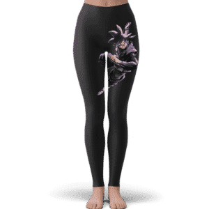 Dragon Ball Super Goku Black Base Form Dope Dark Leggings