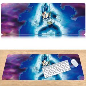 Dragon Ball Super Saiyan Vegeta Blue Dope Gaming Mouse Pad