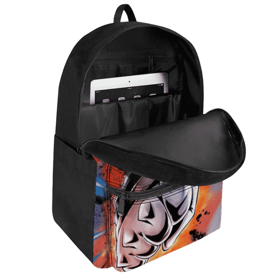Dragon Ball Super Vegeta SSG Attack Pose Awesome Backpack