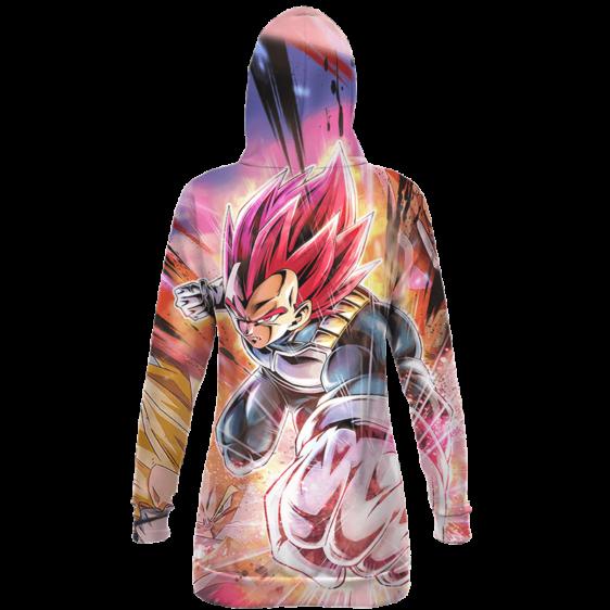 Dragon Ball Super Vegeta SSG Dope All Over Hoodie Dress