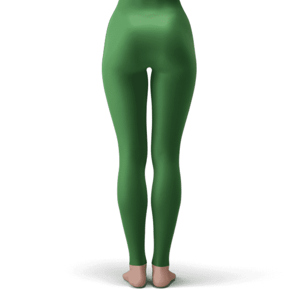 Dragon Ball Super Vegeta SSGSS Sab Green Costume Yoga Pants