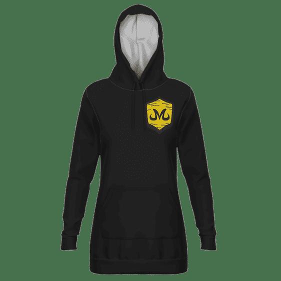 Dragon Ball Team Babidi Emblem Majin Dope Black Hoodie Dress