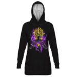 Dragon Ball Teen Gohan Dope Black Art Hoodie Dress