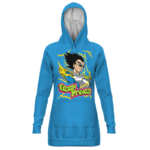 Dragon Ball Vegeta Fresh Prince Blue Awesome Hoodie Dress