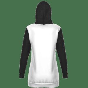 Dragon Ball Vegeta Wearing Gucci Dope Black White Hoodie Dress