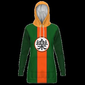 Dragon Ball Yamcha Cosplay Outfit Comfort Kanji Hoodie Dress