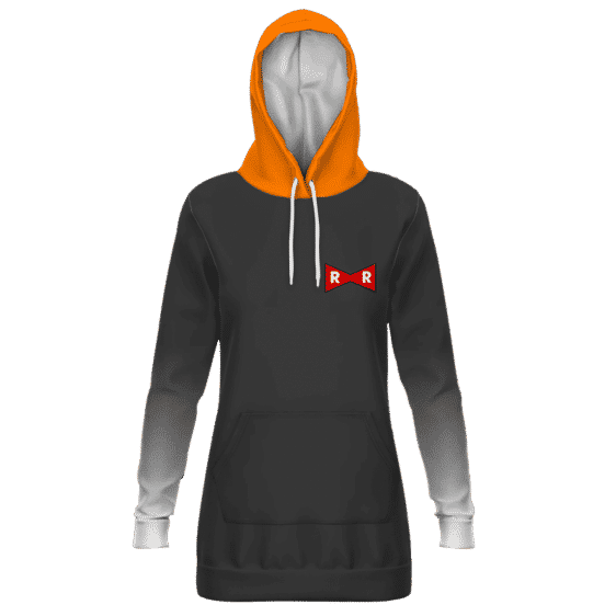 Dragon Ball Z Android 17 Classic Costume Pullover Hoodie Dress