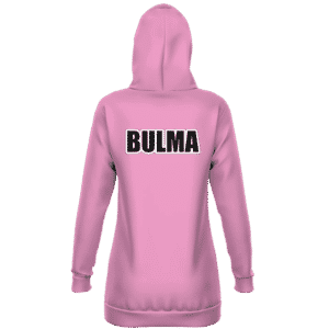 Dragon Ball Z Bulma Outfit Inspired Cosplay Hoodie Dress