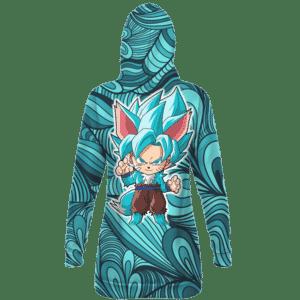 Dragon Ball Z Chibi Goku Cute Cat Fantastic Hoodie Dress