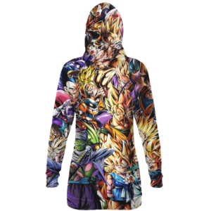 Dragon Ball Z Family Of Characters Awesome Hoodie Dress