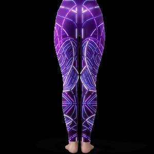 Dragon Ball Z Frieza Neon Trippy Artwork Cool Yoga Pants
