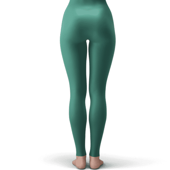 Dragon Ball Z Kid Trunks HD Art Dark Green Yoga Pants