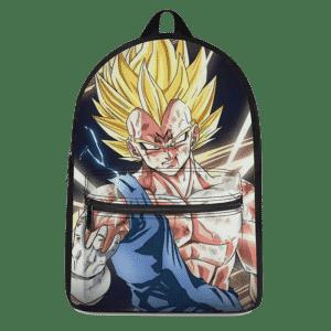 Dragon Ball Z Majin Vegeta Injured In Battle Canvas Backpack