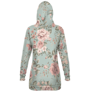 Dragon Ball Z Red Ribbon Army Elegant Floral Hoodie Dress