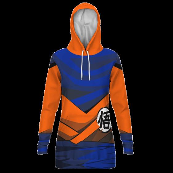 Dragon Ball Z SSJ1 Son Goku Inspired Cosplay Hoodie Dress