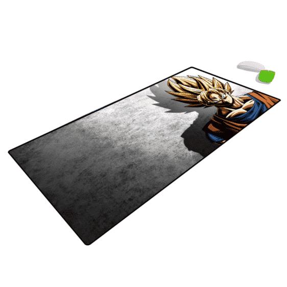 Dragon Ball Z Son Goku SSJ2 Gray Extended Mouse Pad