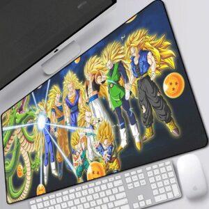 Dragon Ball Z Super Saiya-Jins Level 3 Gaming Mouse Pad