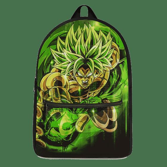Dragon Ball Z Super Saiyan Broly Green Aura Dope Backpack