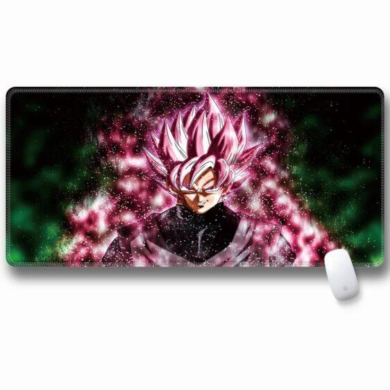 Dragon Ball Z Super Saiyan Goku Black Rose Large Mouse Pad