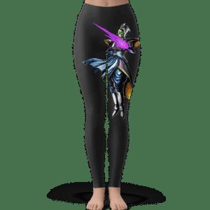 Dragon Ball Zamasu Majestic Stance Dope Black Yoga Pants