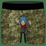 Future Trunks Stuck in a Pool of Marijuana Kush 420 Men's Boxers