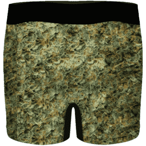 Future Trunks Stuck in a Pool of Marijuana Kush 420 Men's Boxers